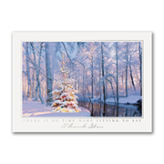 Woodland Sparkle - Holiday Card